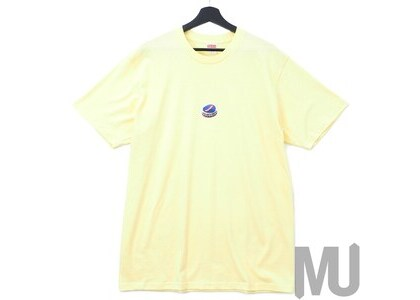 Supreme Bottle Cap Tee Pale Yellowの写真