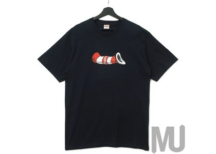 Supreme Cat in the Hat Tee Navyの写真