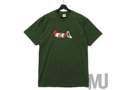 Supreme Cat in the Hat Tee Oliveの写真