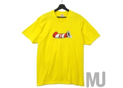 Supreme Cat in the Hat Tee Yellow
