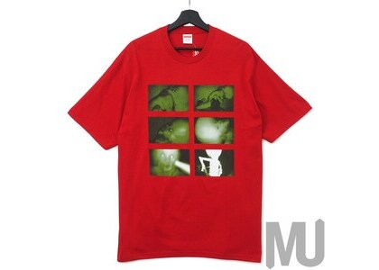 Supreme Chris Cunningham Rubber Johnny Tee Redの写真