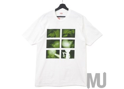 Supreme Chris Cunningham Rubber Johnny Tee Whiteの写真