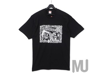 Supreme Faces Tee Blackの写真