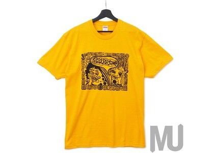 Supreme Faces Tee Bright Orangeの写真