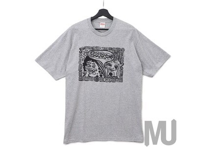 Supreme Faces Tee Heather Greyの写真