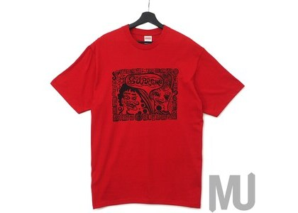 Supreme Faces Tee Redの写真