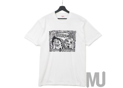 Supreme Faces Tee Whiteの写真