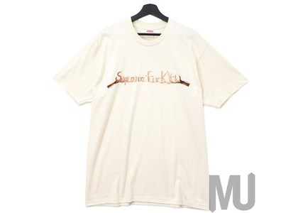 Supreme Fuck You Tee Naturalの写真