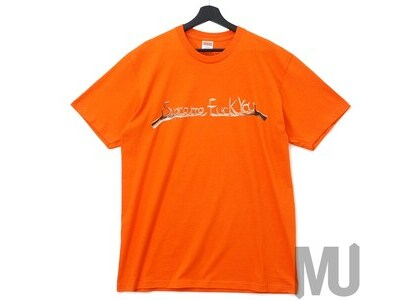 Supreme Fuck You Tee Orangeの写真
