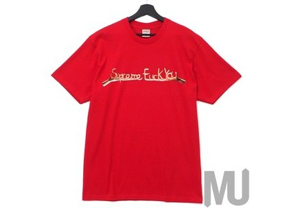 Supreme Fuck You Tee Redの写真