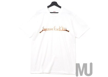 Supreme Fuck You Tee Whiteの写真