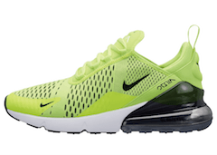 AIR MAX 270 VOLT BLACK-DARK GREY-WHITEの写真