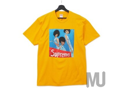 Supreme Group Tee Bright Orangeの写真