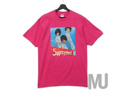 Supreme Group Tee Dark Pinkの写真
