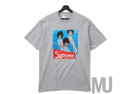 Supreme Group Tee Heather Greyの写真