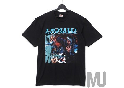 Supreme Liquid Swords Tee Blackの写真