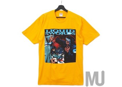 Supreme Liquid Swords Tee Bright Orangeの写真
