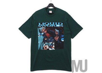 Supreme Liquid Swords Tee Dark Greenの写真