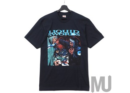 Supreme Liquid Swords Tee Navyの写真