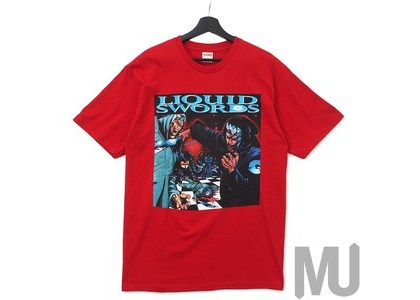 Supreme Liquid Swords Tee Redの写真