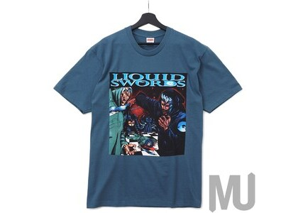 Supreme Liquid Swords Tee Slateの写真