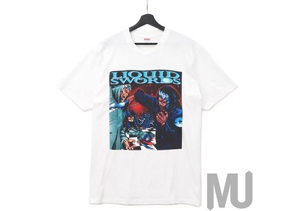 Supreme Liquid Swords Tee Whiteの写真