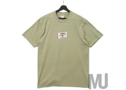 Supreme Luden's Tee Clayの写真