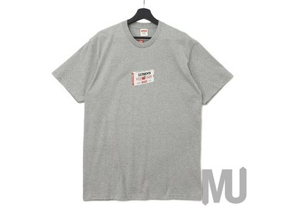Supreme Luden's Tee Heather Greyの写真