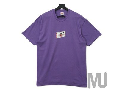 Supreme Luden's Tee Purpleの写真