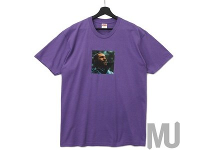 Supreme Marvin Gaye Tee Purpleの写真