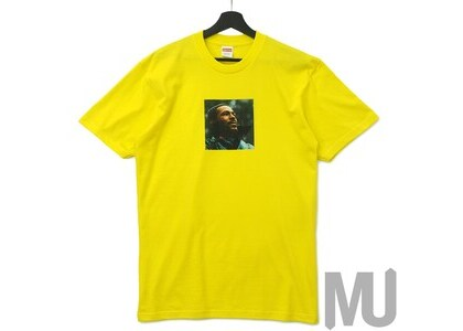 Supreme Marvin Gaye Tee Yellowの写真