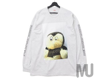 Supreme Mike Kelley AhhYouth! L/S Tee Ash Greyの写真