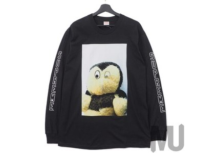 Supreme Mike Kelley AhhYouth! L/S Tee Blackの写真