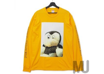 Supreme Mike Kelley AhhYouth! L/S Tee Bright Orangeの写真
