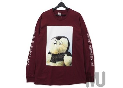 Supreme Mike Kelley AhhYouth! L/S Tee Burgundyの写真