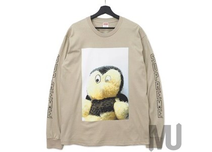 Supreme Mike Kelley AhhYouth! L/S Tee Clayの写真