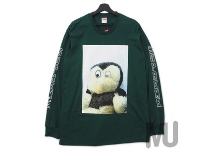 Supreme Mike Kelley AhhYouth! L/S Tee Dark Greenの写真