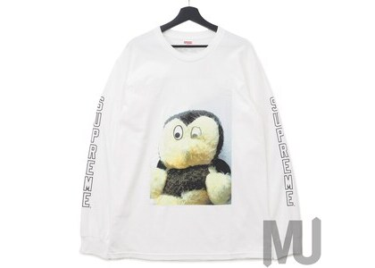 Supreme Mike Kelley AhhYouth! L/S Tee Whiteの写真