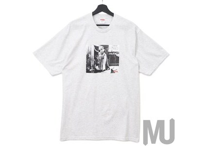 Supreme Mike Kelley Hiding From Indians Tee Ash Greyの写真