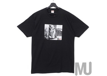 Supreme Mike Kelley Hiding From Indians Tee Blackの写真