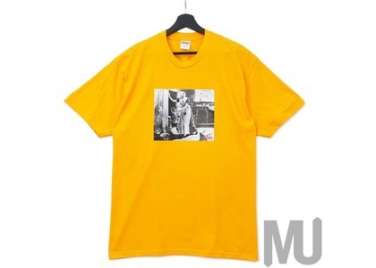 Supreme Mike Kelley Hiding From Indians Tee Bright Orangeの写真