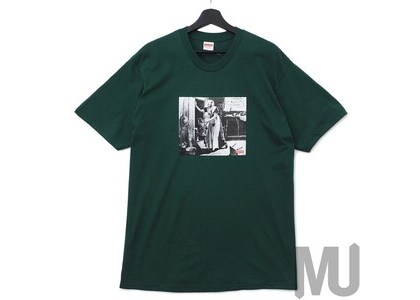 Supreme Mike Kelley Hiding From Indians Tee Dark Greenの写真