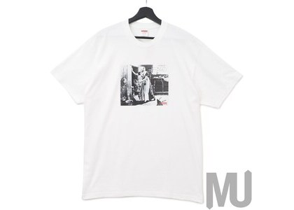 Supreme Mike Kelley Hiding From Indians Tee Whiteの写真