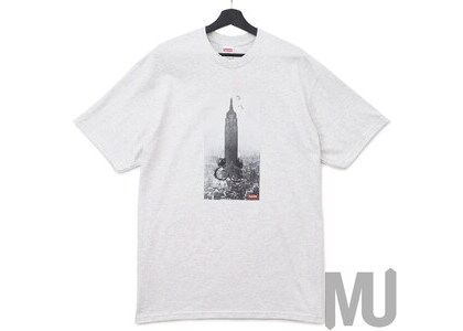 Supreme Mike Kelley The Empire State Building Tee Ash Greyの写真