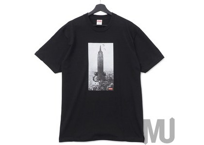Supreme Mike Kelley The Empire State Building Tee Blackの写真