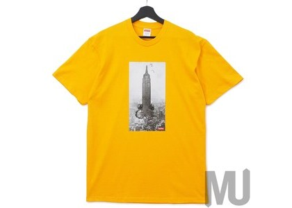 Supreme Mike Kelley The Empire State Building Tee Bright Orangeの写真