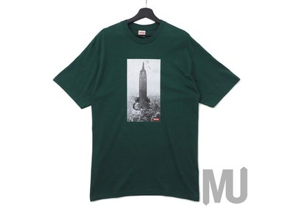 Supreme Mike Kelley The Empire State Building Tee Dark Greenの写真