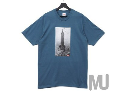 Supreme Mike Kelley The Empire State Building Tee Slateの写真