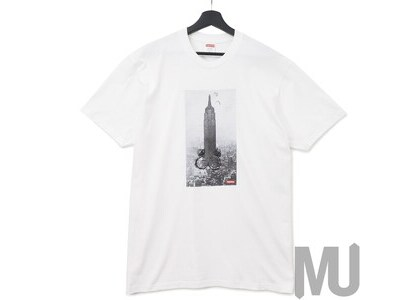 Supreme Mike Kelley The Empire State Building Tee Whiteの写真