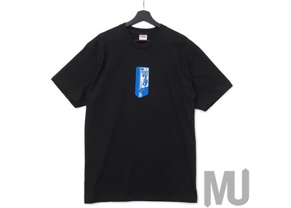 Supreme Payphone Tee Blackの写真